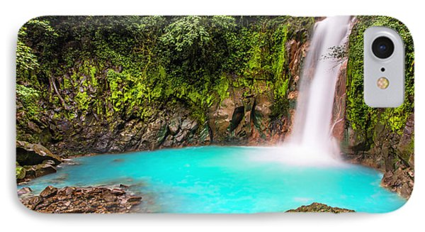 Lower Rio Celeste Waterfall IPhone Case