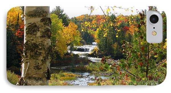Lower Tahquamenon Falls In October No 1 IPhone Case