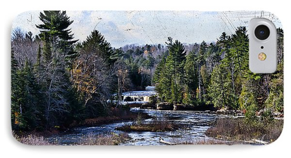 Lower Tahquamenon Falls Michigan Phone Case by Evie Carrier