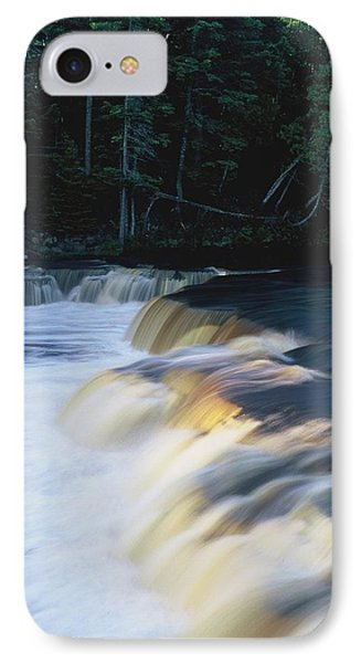 IPhone Case featuring the photograph Lower Tahquamenon Falls by Randy Pollard