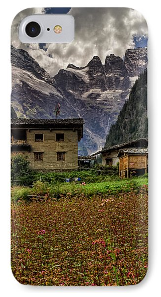 Lower Yubeng Town Crops IPhone Case