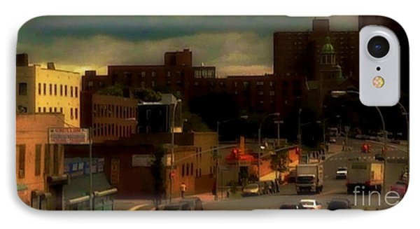 IPhone Case featuring the photograph Lowering Clouds by Miriam Danar