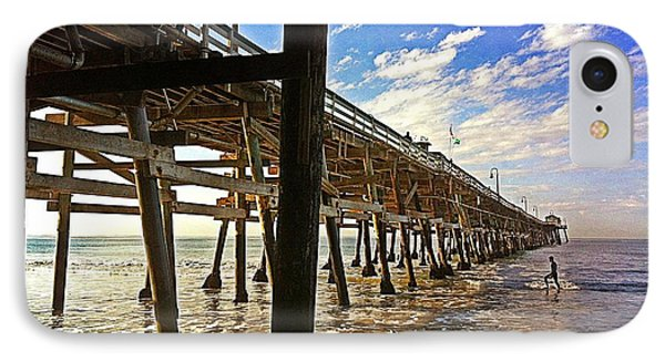 Lowtide At The Pier Phone Case by Traci Lehman