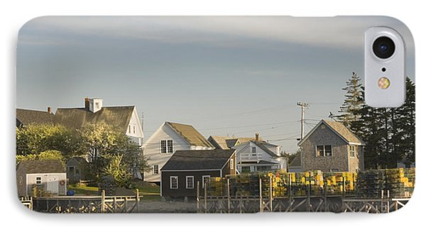 Lowtide In Port Clyde Maine IPhone Case