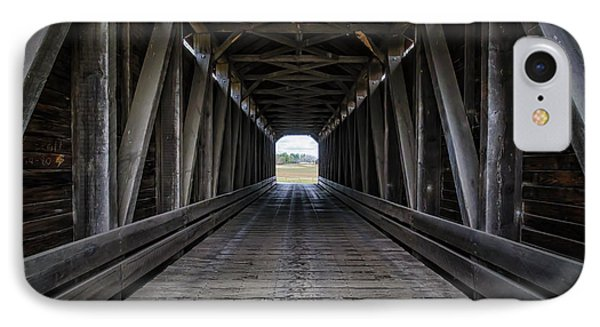 Loys Station Covered Bridge IPhone Case