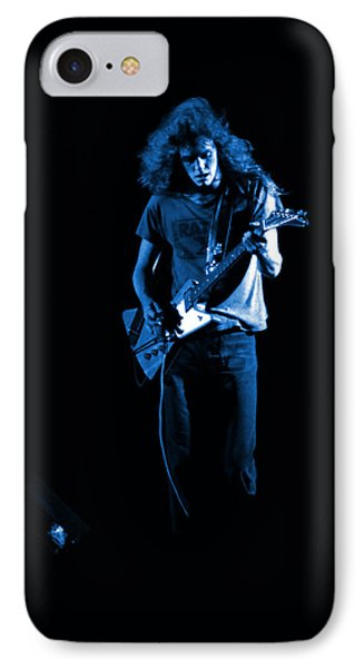 Ls Spo #25 In Blue IPhone Case by Ben Upham