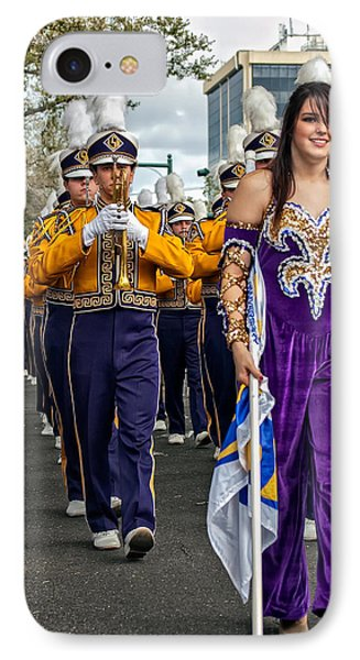 Lsu Marching Band 5 Phone Case by Steve Harrington