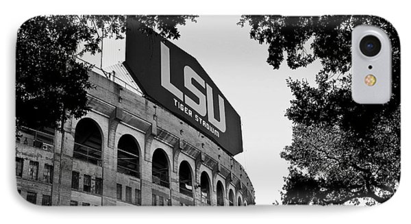 Lsu Through The Oaks IPhone Case by Scott Pellegrin