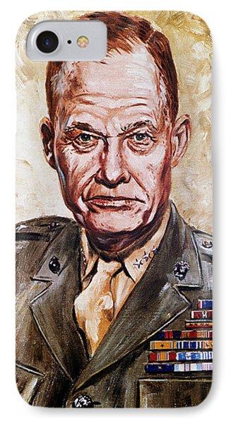 Lt Gen Lewis Puller IPhone Case