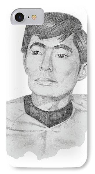 Lt. Sulu IPhone Case