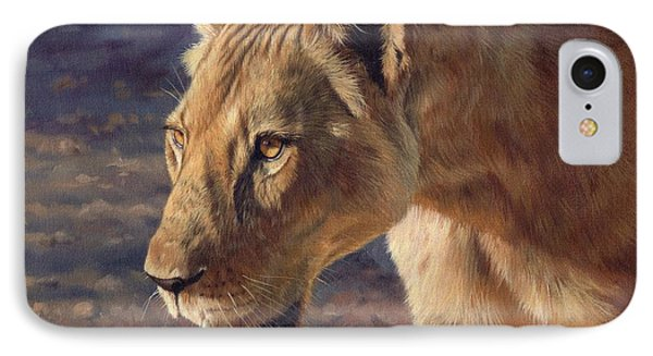 Luangwa Princess  Phone Case by David Stribbling