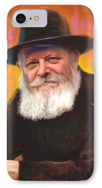 Lubavitcher Rebbe Phone Case by Sam Shacked