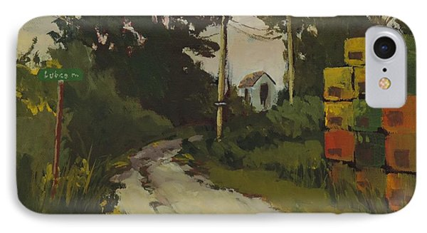 Lubee Lane IPhone Case by Bill Tomsa