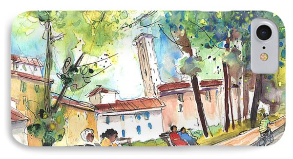 Lucca In Italy 03 Phone Case by Miki De Goodaboom