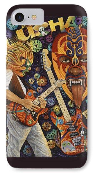 Van Halen iPhone 7 Case - Lucha Rock by Ricardo Chavez-Mendez