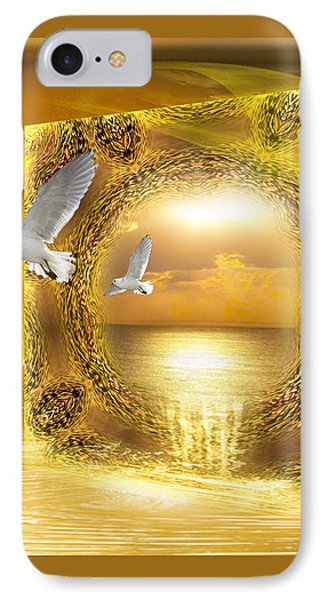 IPhone Case featuring the digital art Lucid Dream - Surreal Art By Giada Rossi by Giada Rossi