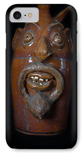 IPhone Case featuring the painting Lucifer Jug by Izabella West