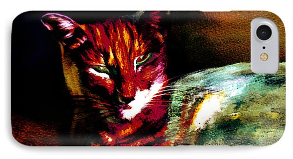 Lucifer Sam Tiger Cat IPhone Case