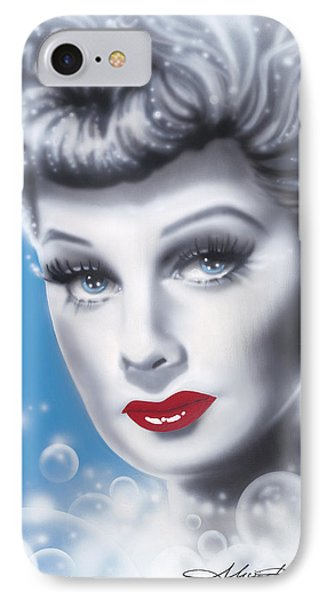 Lucille Ball Phone Case by Alicia Hayes