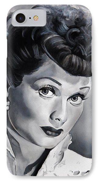Lucille Ball Phone Case by Brian Broadway