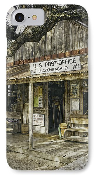 Luckenbach IPhone Case by Scott Norris