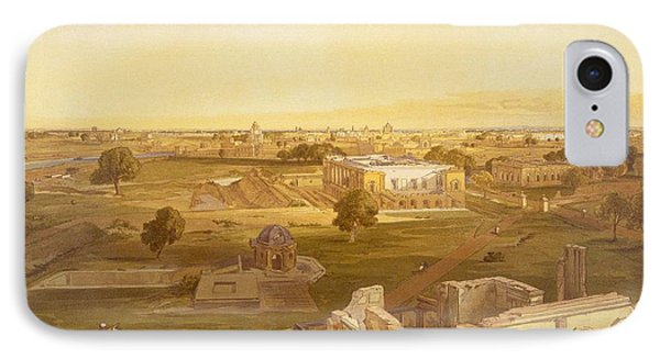 Lucknow, From India Ancient And Modern IPhone Case by William 'Crimea' Simpson