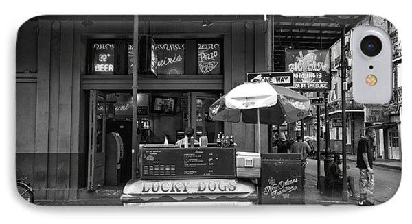 Lucky On Bourbon Street Mono IPhone Case