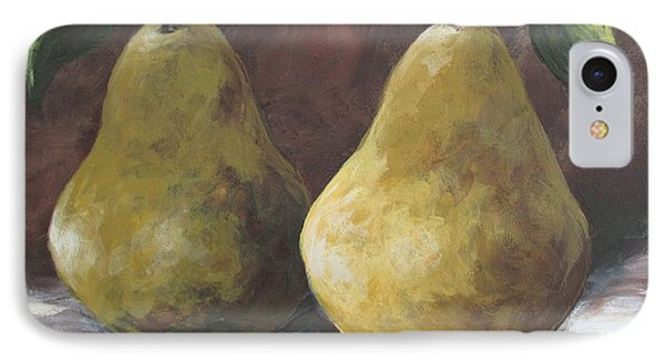Lucky Pears II IPhone Case by Torrie Smiley