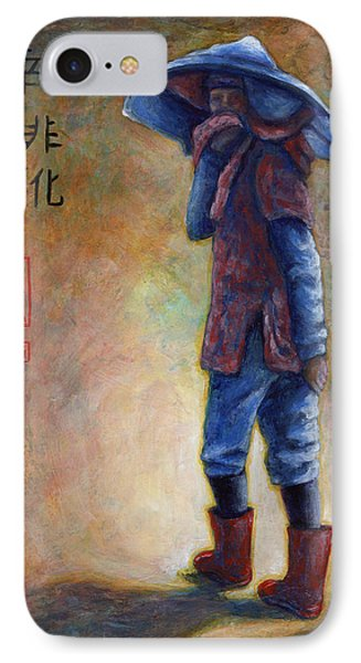 Lucky Red Boots IPhone Case by Retta Stephenson