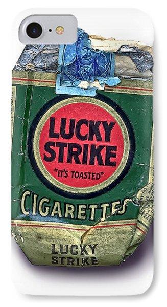 1940's Lucky Strike Green IPhone Case by Walt Foegelle