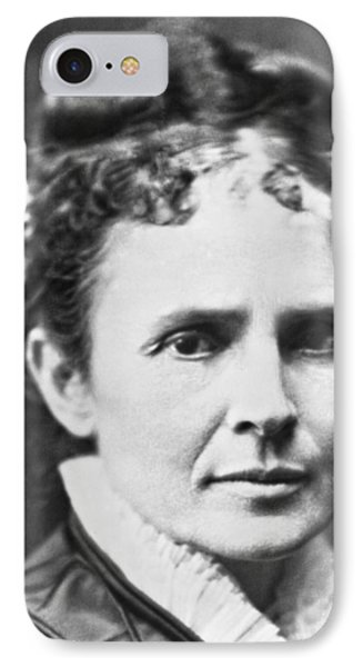 Lucretia Rudolph Garfield IPhone Case by Underwood Archives
