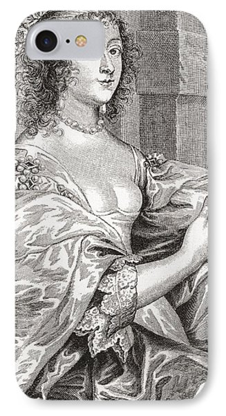 Lucy Hay, Née Percy, Countess Of Carlisle, 1599 –1660.  English Courtier. After The Portrait IPhone Case by Bridgeman Images
