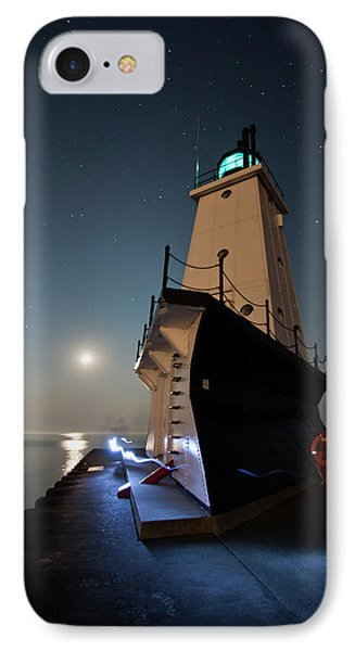 Ludington North Breakwater Lighthouse IPhone Case