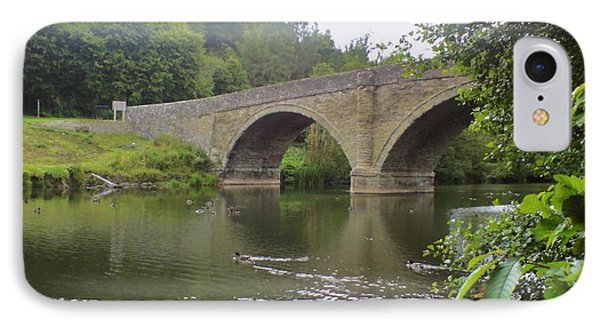 IPhone Case featuring the photograph Ludlow Bridge by John Williams