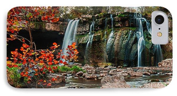 Ludlowville Falls IPhone Case