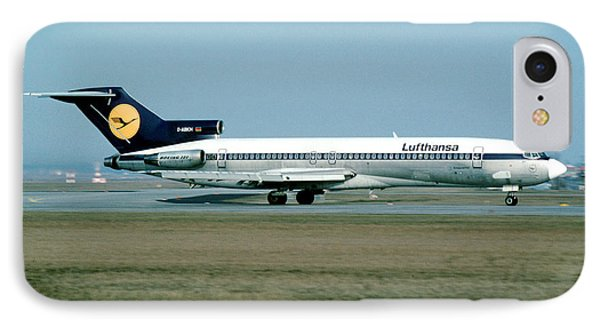 Lufthansa Boeing 727 IPhone Case by Wernher Krutein