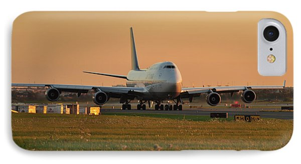 IPhone Case featuring the photograph Lufthansa by Puzzles Shum