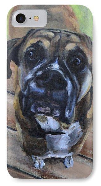 Lugnut Phone Case by Donna Tuten