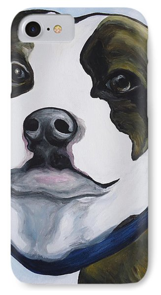 Lugnut Portrait IPhone Case by Leslie Manley