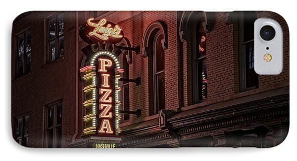Luigi's Pizza IPhone Case by Rick Berk