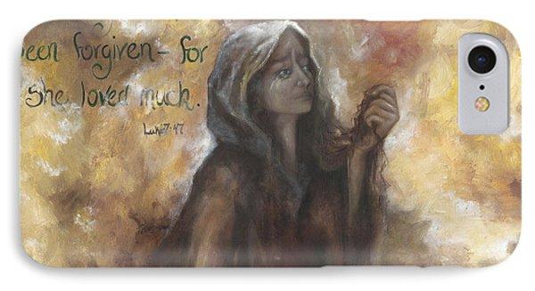 Luke 7 Verse 47 Forgiveness IPhone Case