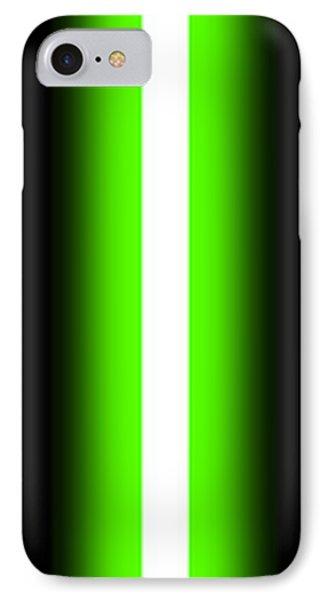 Luke's Lightsaber II IPhone Case