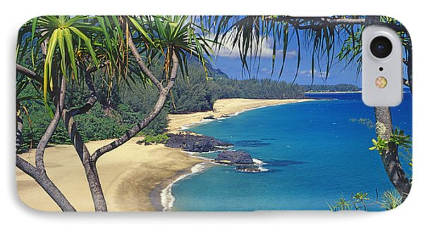 Lumahai Beach IPhone Case