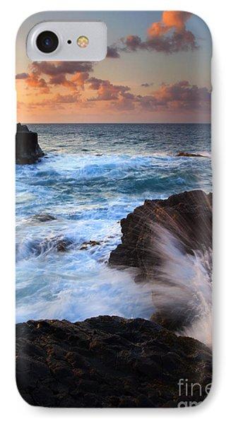 Lumahai Sea Explosion Phone Case by Mike  Dawson
