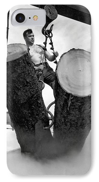 Lumber Mill Worker IPhone Case