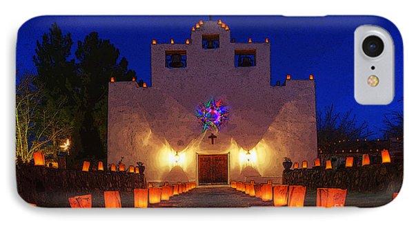 Luminaria Saint Francis De Paula Mission IPhone Case