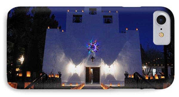 Luminarias At St Francis De Paula IPhone Case