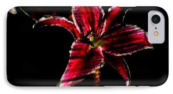 IPhone Case featuring the photograph Luminet Darkness by Jessica Shelton