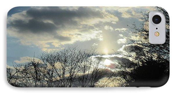 Luminous Clouds IPhone Case