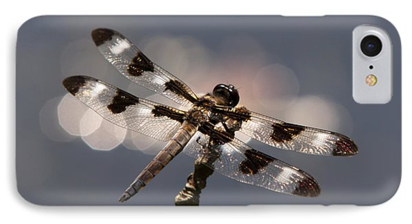Luminous Dragonfly Phone Case by Christina Rollo